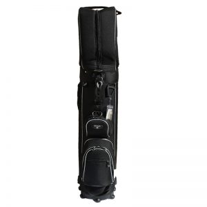 Onyx Roller Golf Travel Bag on Wheels – Black/Grey