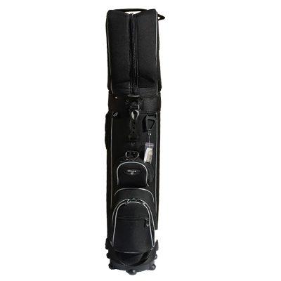 Onyx Roller Golf Travel Bag on Wheels – Black/Grey