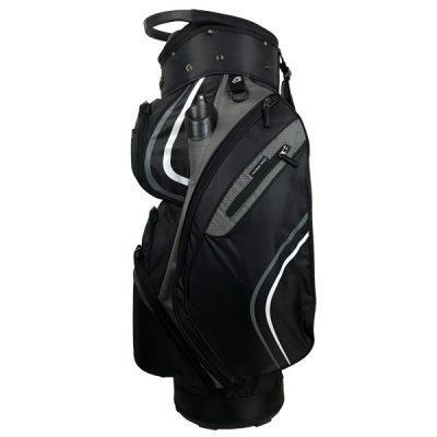 Onyx Spyder Golf Bag – Black-Grey-White