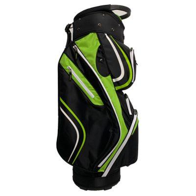Onyx Spyder Cart Bag – Lime-Black-White