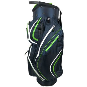 Onyx Spyder Golf Bag – Navy-Lime-White
