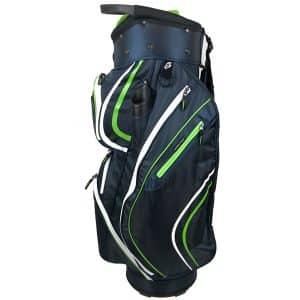 Onyx Spyder Golf Bag – Navy-Lime-White