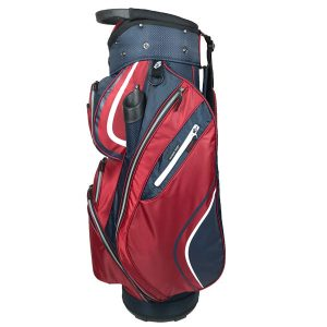 Onyx Spyder Cart Bag – Red-Navy-White