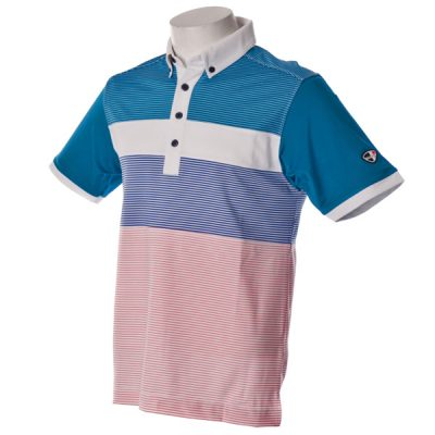 Crest Link Men's Golf Polo – 80-1209 – Blue Moon