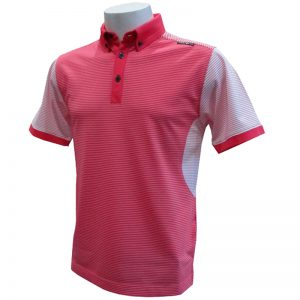 Crest Link Men's Golf Polo – 80-1210 – Apricot Red – Lge