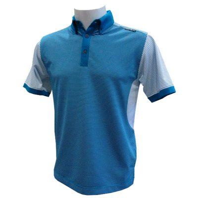 Crest Link Men's Golf Polo – 80-1210 – Blue Moon – Lge