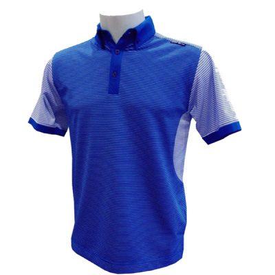 Crest Link Men's Golf Polo – 80-1210 – Prince Blue – Lge