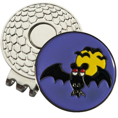 Golf Ball Marker on Magnetic Hat Clip – Gone Batty