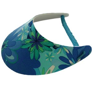 Ladies Golf Visor – Blue Bayou