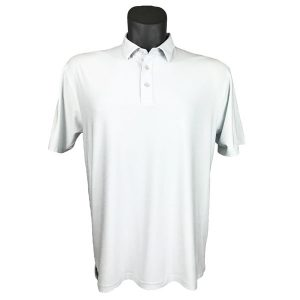Onyx Sierra Mens Golf Shirt | Golf Polo | Ivory