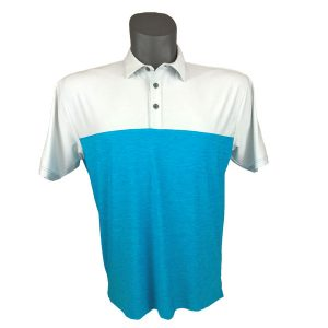 Onyx Sierra Mens Golf Shirt | Golf Polo | Ivory-Sky