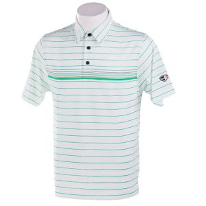 Crest Link Men's Golf Polo – 80-A1111 White Size XL