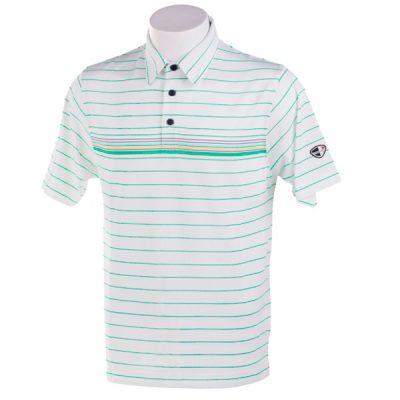 Crest Link Men's Golf Polo – 80-A1111 White Size XL