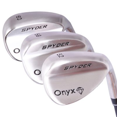 Onyx Spyder Bite 3 Pce Wedge Set with Steel Shafts