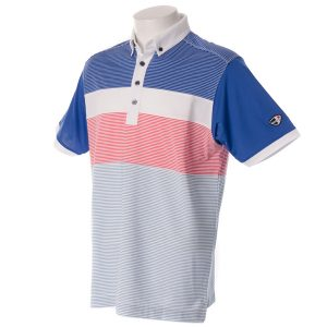 Crest Link Men's Golf Polo – 80-1209 – Prince Blue – XL