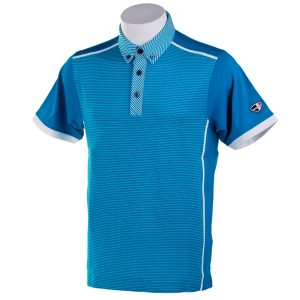 Crest Link Men's Golf Polo – 80-1306 – Blue – XL