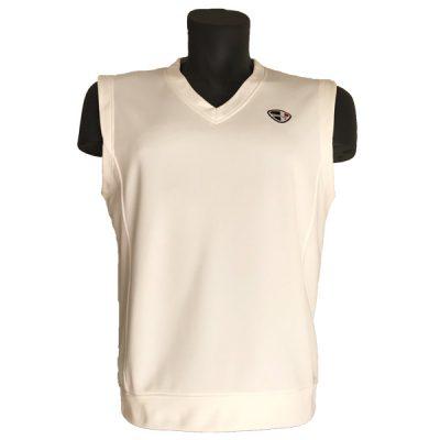 Crest Link Men's Sleeveless Golf Vest – 71-1136 Off-White