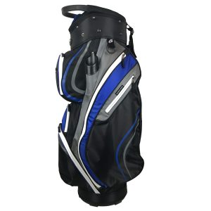 Onyx Spyder Golf Bag – Black-Grey-Royal