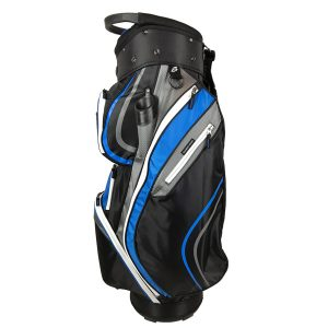 Onyx Spyder Golf Bag – Black-Grey-Sky