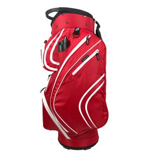 Onyx Spyder Golf Bag – Red-White