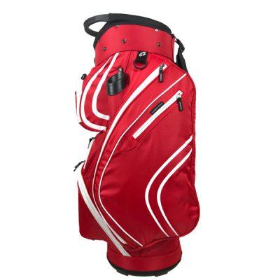 Onyx Spyder Golf Bag – Red-White
