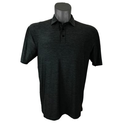 Onyx Sierra Mens Golf Shirt | Golf Polo | Charcoal