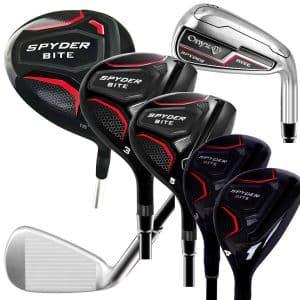 Onyx Spyder Bite Ladies Golf Set – 12 Pce